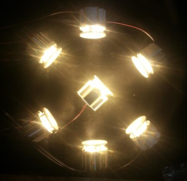 LED moduly 7W