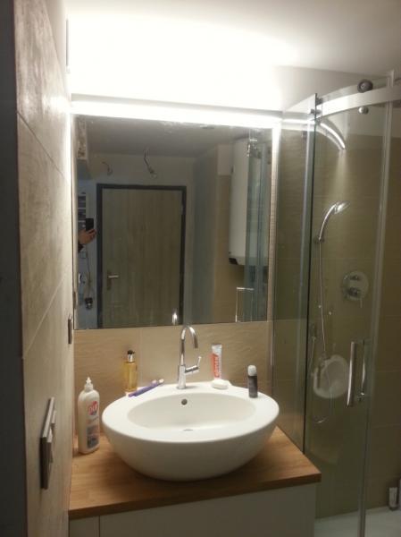osvětlení zrcadla a koupelny