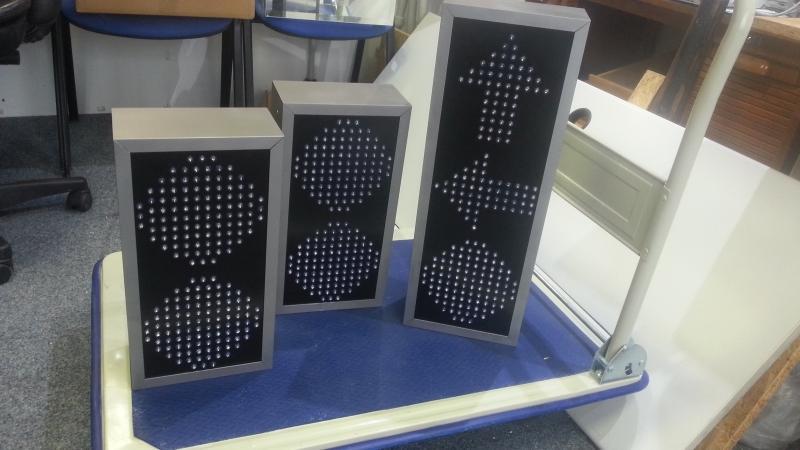 LED semafory - Mondi Štětí