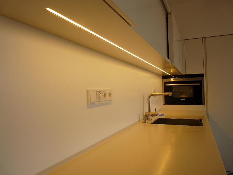 osvětlení kuchyňské linky