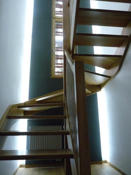 lineární osvětlení schodiště