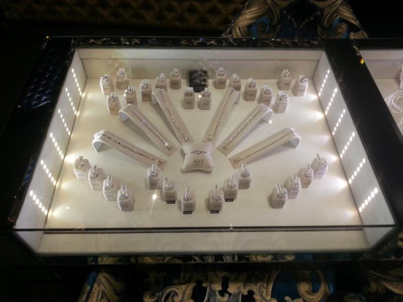 osvětlerní šperků - ALO diamonds