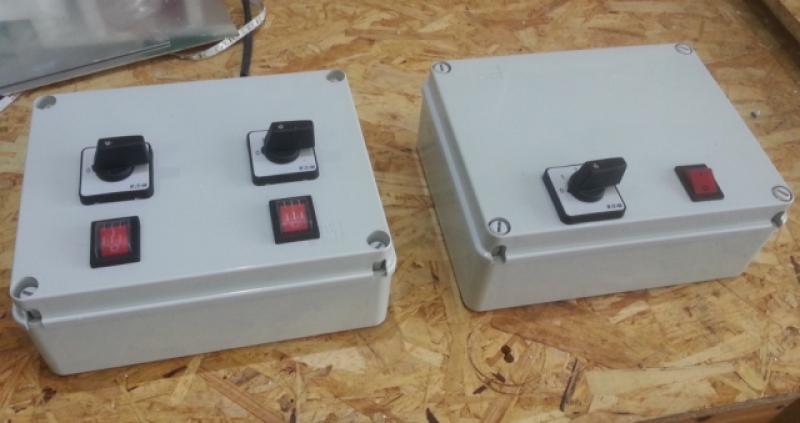 ovládací skříň pro LED semafory